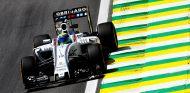 Massa, durante los libres en Brasil - LaF1
