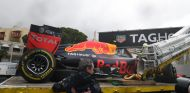 Verstappen se accidentó tres veces este fin de semana - LaF1