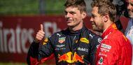 Max Verstappen y Sebastian Vettel - SoyMotor.com