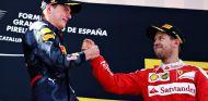 Vettel felicita a Verstappen por su primera victoria - LaF1