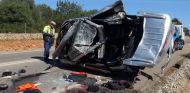 Una mujer falleció y cuatro pasajeros fueron heridos en el accidente de la foto - SoyMotor