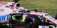 Mazepin, durante el día 2 de test en Hungaroring con Force India - SoyMotor.com