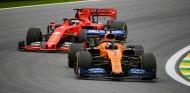 Sainz por delante de Vettel en el GP de Brasil 2019 - SoyMotor.com