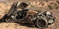 Un McLaren 720S aparece destrozado en el desierto de Mohave - SoyMotor.com