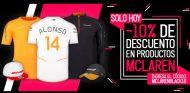 BLACK FRIDAY: hoy descuentos en merchandising oficial McLaren - SoyMotor