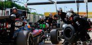 Fernando Alonso durante el Gran Premio de Hungría - LaF1