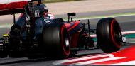Jenson Button en los test postcarrera de Montmeló - LaF1