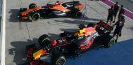 Los monoplazas de Alonso y Verstappen en Austin - SoyMotor.com