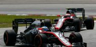 Fernando Alonso y Jenson Button en el GP de Malasia - LaF1