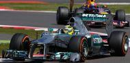 Nico Rosberg en el GP de Gran Bretaña