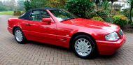 Un Mercedes SL500 de 1996 nuevo pero sin llaves - SoyMotor.com