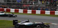 Rosberg perdió muchas posiciones - LaF1