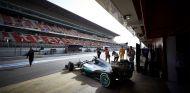 Mercedes en los entrenamientos de pretemporada de Montmeló - LaF1