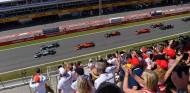 Mercedes niega problemas con el embrague en la salida de Bottas en España - SoyMotor.com