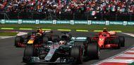 Lewis Hamilton, Kimi Räikkönen y Daniel Ricciardo en México - SoyMotor.com