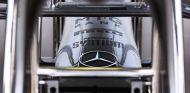 Detalle del morro del Mercedes W04 - LaF1