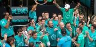 Mercedes celebra el Campeonato de Constructores en Brasil - SoyMotor.com