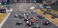 Salida del GP de Hungría de 2013 - LaF1