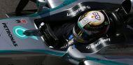 Lewis Hamilton en Silverstone - LaF1