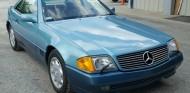 Un Mercedes SL500 robado en 1991 aparece 27 años después - SoyMotor.com