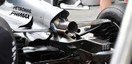 Escape del motor del Mercedes W08 en Hungría - SoyMotor.com