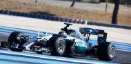 Pascal Wehrlein con los neumáticos Pirelli de 2017 en Paul Ricard - LaF1