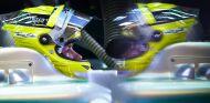 Nico Rosberg, pensativo en su W04 - LaF1