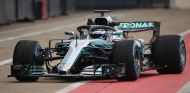 El Mercedes W09 en Silverstone - SoyMotor