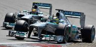 Mercedes en el GP de Alemania F1 2013: Domingo