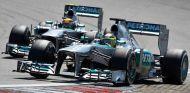Mercedes en el GP de Alemania F1 2013: Domingo