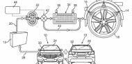 Mercedes patenta un sistema para controlar la temperatura de los neumáticos