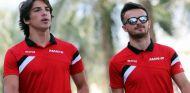 La diferencia de altura entre Merhi y Stevens es considerable - LaF1