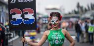 Azafata en el GP de México 2017 - SoyMotor.com