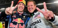 Sebastian Vettel espera un milagro con Michael Schumacher
