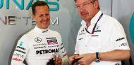 Brawn aún sueña con el milagro de la recuperación de Schumacher - LaF1