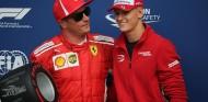 Kimi Räikkönen y Mick Schumacher en el GP de Italia - SoyMotor