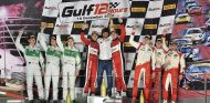 Miguel Molina en el podio de Abu Dabi - SoyMotor