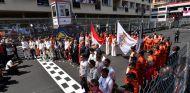 Parrilla de salida del GP de Mónaco - SoyMotor.com