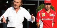 Luca di Montezemolo y Fernando Alonso en Monza - SoyMotor.com