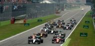 Salida del Gran Premio de Italia de 2016 - LaF1