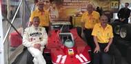 """Scheckter pilota el 312 T4 de nuevo 40 años después: """"¡Quería menos vueltas!"""" – SoyMotor.com"""