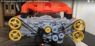 Motor bóxer Subaru WRX EJ20 impreso en 3D