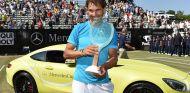 Rafa Nadal mostró su preferencia por KIA - SoyMotor