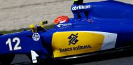 Felipe Nasr rodando con el Sauber en Montmeló - LaF1.es