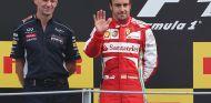 Adrian Newey y Fernando Alonso en Monza - SoyMotor.com