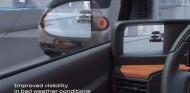 Visión de la cámara del Honda e, comparada con un retrovisor clásico - SoyMotor.com