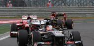 Hülkenberg en Corea, donde mantuvo a raya a Hamilton, Alonso y Räikkönen - LaF1
