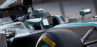Nico Rosberg a los mandos de su Mercedes W05 - LaF1