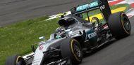 Nico Rosberg durante la clasificación en Silverstone - LaF1
