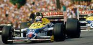 Nigell Mansell en el Gran Premio de San Marino de 1986 - LaF1